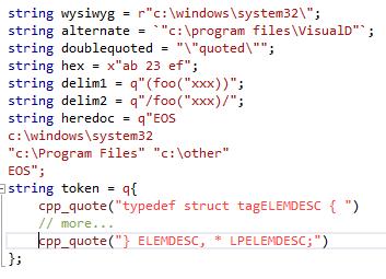248e0e98292ca Language Support in the Editor - D Programming Language